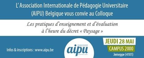 Colloque AIPU – 28 mai 2015 | Site Internet de la section belge de l'AIPUSite Internet de la section belge de l'AIPU | Haute Ecole Lucia de Brouckère | Scoop.it