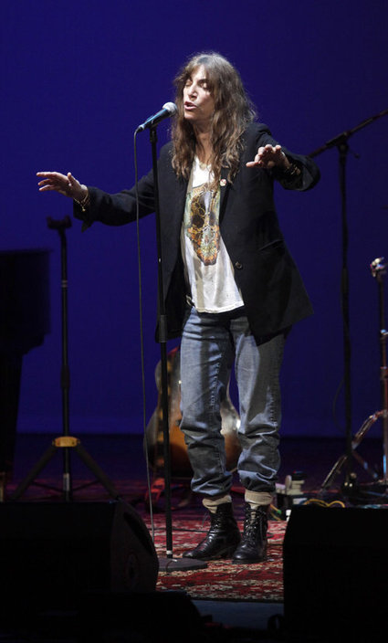 Patti Smith à Monaco : divine surprise - Nice-Matin | Bruce Springsteen | Scoop.it