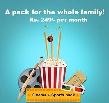 Sun Direct offer Cinema and sports pack for DTH customers | Dish TV Service Providers in India | Scoop.it
