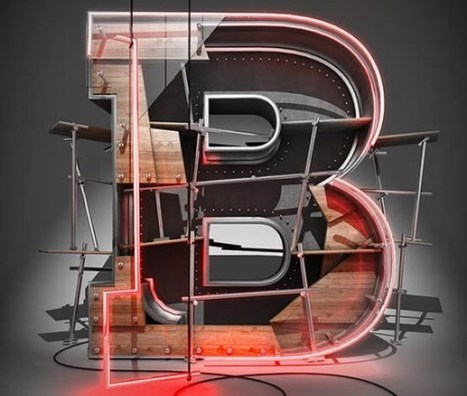 25 Fresh Photoshop 3D Text Effect Tutorials | Web Design Burn | Most IN the Post | Scoop.it
