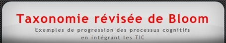 Taxonomie de Bloom et intégration des TIC | Langues et TICE | Scoop.it