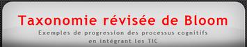 Taxonomie de Bloom et intégration des TIC | TIC et TICE mais... en français | Scoop.it