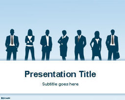 Free Business PPT Template | Free Powerpoint Templates | business presentation | Scoop.it