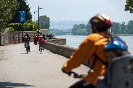 A Lyon, ViaRhôna, voie verte et cyclable de 700 km, se dévoile en partie - SUISSE & FRANCE | Cyclotourisme - véloroutes et voies vertes | Scoop.it