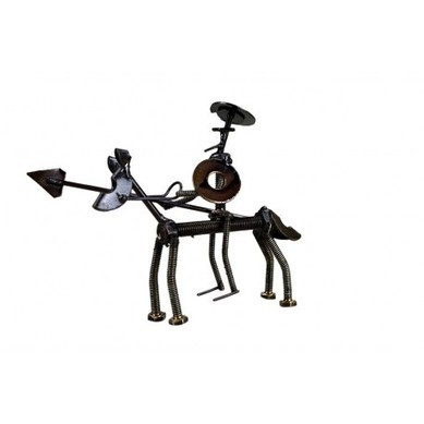Metal Don Quijote on a Horse- Recycled Parts | Metal Don Quijote on a Horse- Recycled Parts | Scoop.it