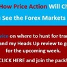 Learn how to trade the Forex with price action