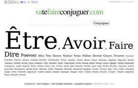 vatefaireconjuguer.com - La conjugaison des verbes français | Remue-méninges FLE | Scoop.it