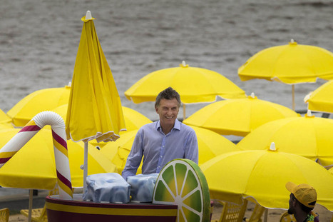 Mauricio Macri inauguró una nueva temporada de Buenos Aires Playa   Turismo - Buenos Aires Playa   Scoop.it