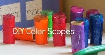 Exploring our world with DIY color scopes | Teach Preschool | Scoop.it