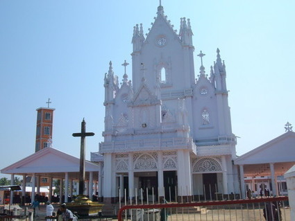 Kerala Christian Pilgrimage Locations: Manarcad St.Mary's Cathedral Church Kottayam   See My Blogs   Scoop.it