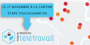 Tour de France du télétravail le 27 novembre 2012 à partir de 09H00 à La Cantine Toulouse | La Cantine Toulouse | Scoop.it