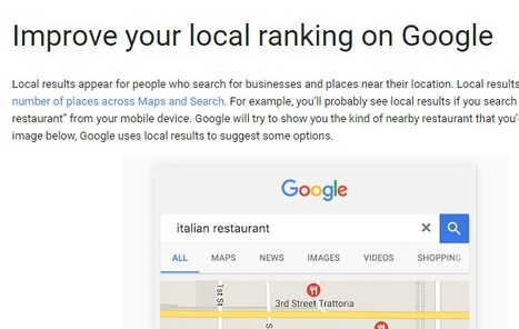 Google My Business Updates | Local SEO for local businesses | Scoop.it