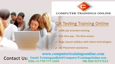 QA Testing Training | Software Testing Training Online | QA Online Training with Placement | Scoop.it