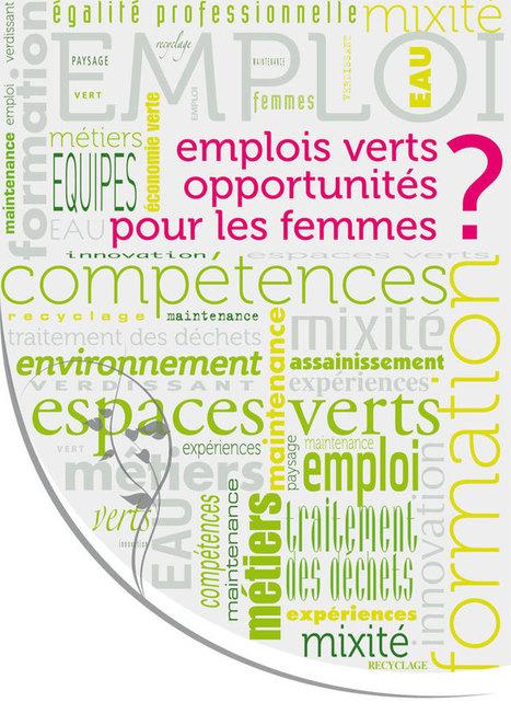 Emplois verts opportunités pour les femmes ? | Ressources de la formation | Scoop.it