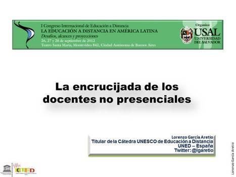 Sobre los docentes en la encrucijada | Contextos universitarios mediados | Educación a Distancia y TIC | Scoop.it
