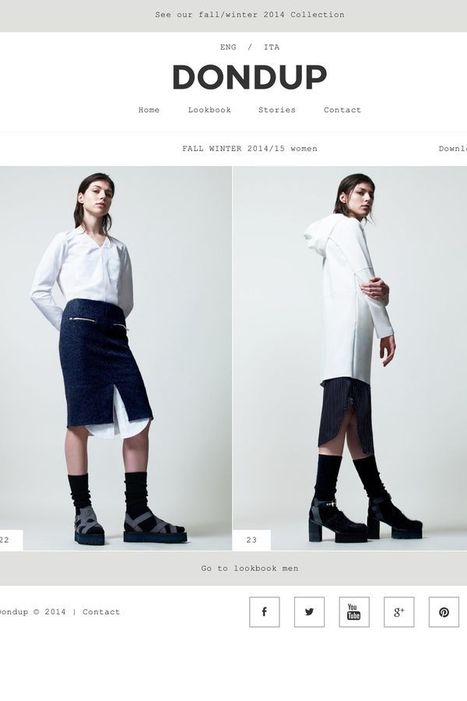 Dondup turns 15 and launches new website   Le Marche & Fashion   Scoop.it