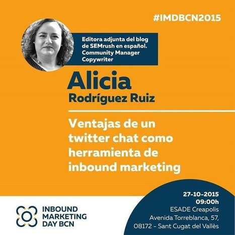 #IMDBCN2015 Social networking e Inbound Marketing | Marketing and Branding | Scoop.it