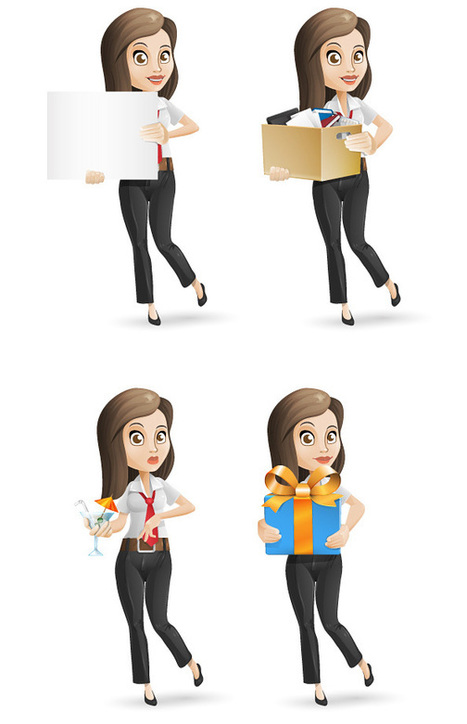 100+ Free Vector People Character Graphics For Designers | freevectors.me | Scoop.it