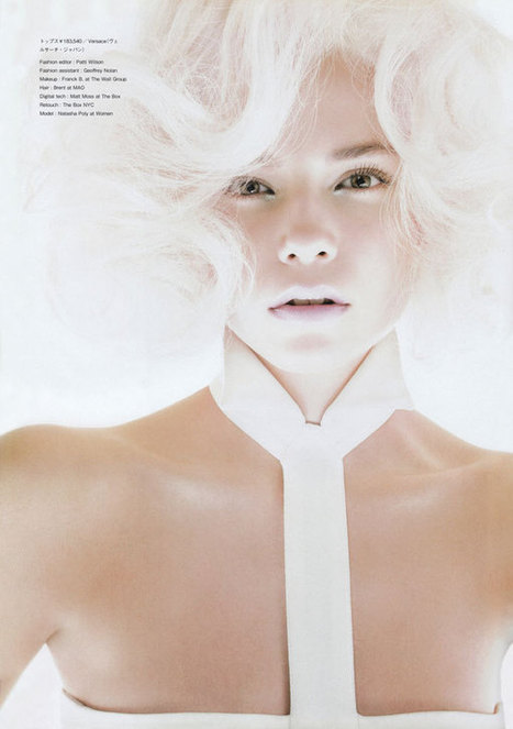 Natasha Poly by Tom Munro for Numero | The Blog's Revue by OlivierSC | Scoop.it