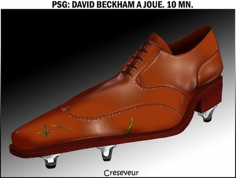 Beckham a joué 10mn | LAFORET MOLSHEIM | Scoop.it