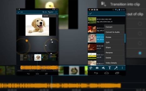 [Vidéo] TOP 5 des applications Android pour le montage vidéo | Formation multimedia | Scoop.it
