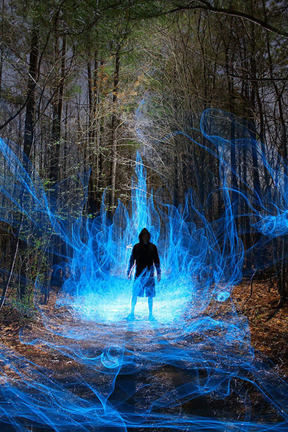 Epic Portraits Done with Light Painting | Art, photography and painting | Scoop.it
