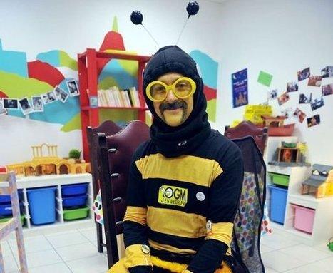 Déguisé en abeille, Dédé l'abeillaud lance sa campagne présidentielle à Brest | aquarium | Scoop.it