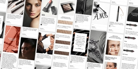 Burberry crée des tableaux de maquillage personnalisés sur Pinterest - Marketing digital | Social Media | Scoop.it