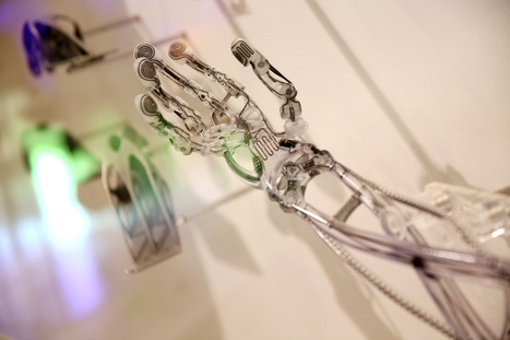 'Terminator arm' churned out of 3D printer | Amazing Science | Scoop.it