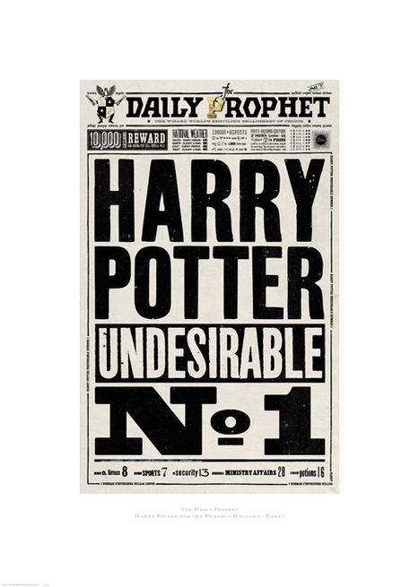 Creative Review - The graphic art of Harry Potter | Matmi Staff finds... | Scoop.it