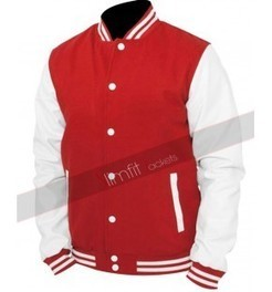 Baseball Varsity Red/Blue Jacket | Motorcycle Leather Jackets For Men and Women | Scoop.it
