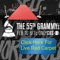 GRAMMY Live 2013: Watch The 55th Music's Biggest Night RED CARPET on When Mag Live | The Official GODrive Media SCOOP! | Scoop.it