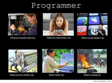 Hey programmers! What do you really do? | Interested in coding? | Scoop.it