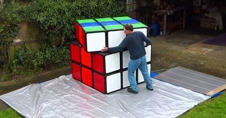 This might be the biggest Rubik's Cube ever, but takes muscle to solve | Soup for thought | Scoop.it
