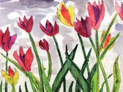 Alzheimer's disease & artistic expression: The paintings of Lester Eugene Potts, Jr.   CareSwap_ALZHEIMER'S   Scoop.it