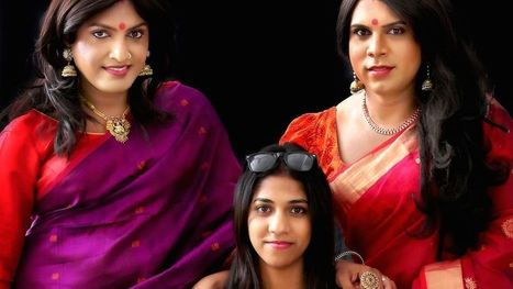 Indian fashion designer celebrates transgender women in her new sari collection | LGBT Times | Scoop.it