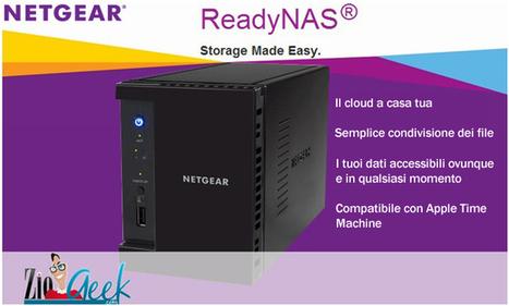 [Giveaway] Vinci il Ready NAS RN 102 di NETGEAR per Natale 2013 | L'angolo Geek e Nerd | Scoop.it