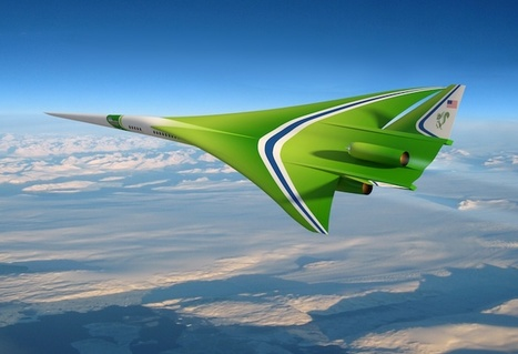 NASA team considers supersonic airliner for next X-plane | Aerospace Innovation & Technology | Scoop.it
