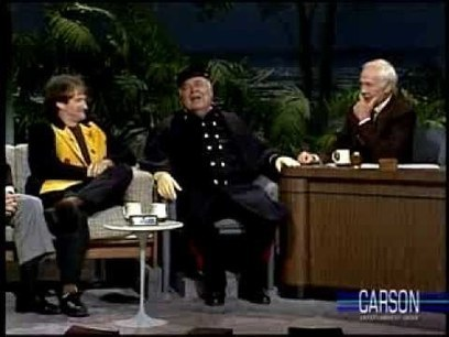 Jonathan Winters & Robbin Williams on Johnny Carson | Videos that make you laugh and cry | Scoop.it