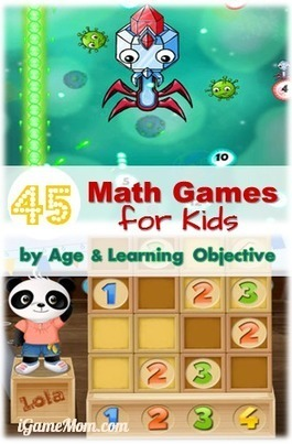 Cool Math Games for Kids - 45 Math Game Apps | iGameMom | Edtech PK-12 | Scoop.it