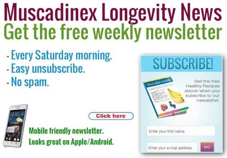 News updates to your inbox every Saturday. Click here. | Muscadinex Longevity | Scoop.it