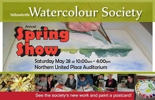 Spring Show - Yellowknife Watercolour Society #YZF #NWT #Art | NWT News | Scoop.it