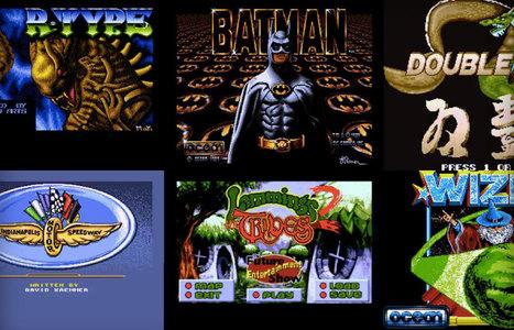 10 000 jeux Amiga jouables sur votre navigateur, tout de suite | Trucs et astuces du net | Scoop.it