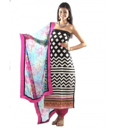 UPTOWN® Printed Cotton Suit Material | Buy Online at Best Price | Women Western,Ethnic Wear, Dresses, Tops, Skirts, Kurtis, Leggings with Best Deals- UPTOWNGALERIA | Scoop.it