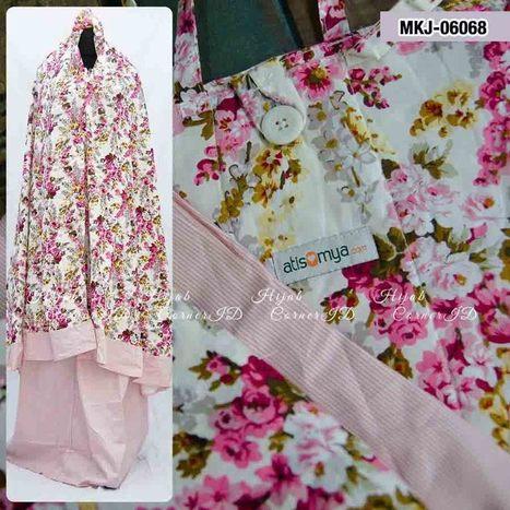 Mukena Katun Jepang MKJ-06068 | Atisomya Hijab | Scoop.it