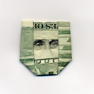 Hasegawa Yosuke makes origami out of dolla dolla bills | Arte AHDIME | Scoop.it