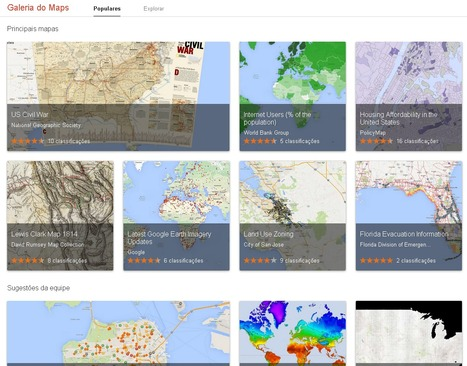 Google Maps Gallery | Data Visualization & Open data | Scoop.it