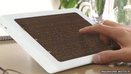 Le lecteur ebook en braille, ou faire reculer l'illettrisme des non voyants | bibliothécaires et bibiothèques | Scoop.it