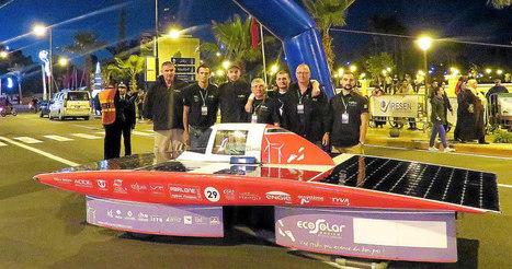 Voiture solaire.  Le véhicule breton Heol bien classé au Maroc | Technologie, innovation, recherche | Scoop.it