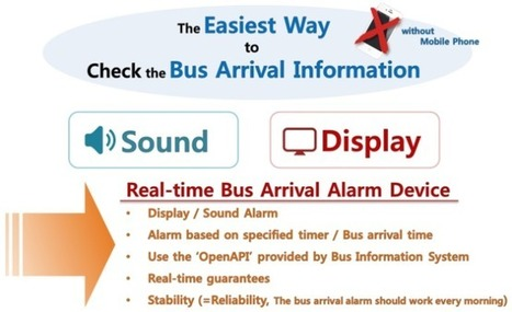 Bus Arrival Alarm based on ARM mbed WIZwiki-W7500 | Open Hardware Source | Scoop.it